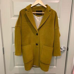 Ginger Green Wool Coat Blazer